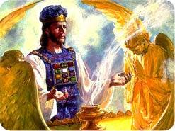 11. 聖所の象徴のうち、どの2つをイエスは成就なさいましたか?