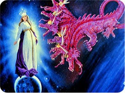 2. 「巨大な龍」とはだれのことで、何をしようとしましたか?