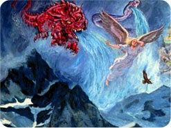 4. イエスが天へ引き上げられた後、サタンは教会にどのようなことをしましたか?