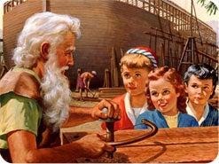 15. ノアの時代、生き延びる道は何通りありましたか?