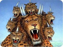 5. 黙示録13章と17章の獣は、比較するとどうですか?