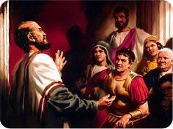 10. ペテロがコルネリオと彼の家の者たちに福音を告げたとき、どのようなことが起こりましたか?