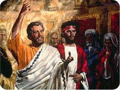 2. 神の命令と人間の命令が対立するとき、だれに従わなくてはならないと、ペテロは言いましたか?