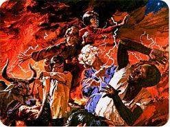 6. 再臨の際、イエスの輝きは生きている罪人をどうしますか?