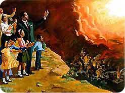 8. その時、生きている聖人と復活させられた聖人はどうなりますか?