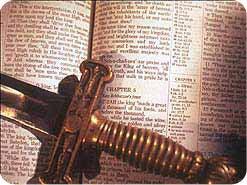 11. イエスは悪魔の攻撃に対して、どのように戦われましたか?