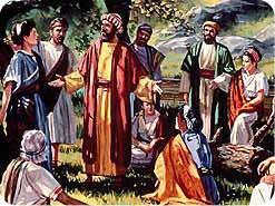 8. 使徒たちは安息日に異邦人とも会いましたか?
