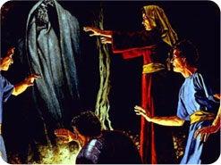 1. サウルが見たものは、本当の預言者サムエルでしたか?