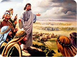 10. Jesus told His disciples to preach first to which group of people?