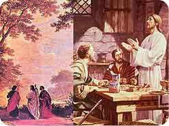 ٢. حسب قول المسيح, عن من تكشف نصوص الكتاب المقدس والنبوات ؟