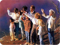 4. Hvem vil se Jesus når Han kommer tilbake?