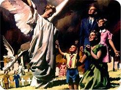 7. Hva vil skje med de rettferdige som er døde ved Jesu komme?