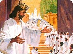 16. Hvordan vil folk bli belønnet ved Jesu annet komme?