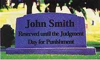 Los impíos no serán castigados sino hasta después del juicio.