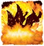 Djevelen vil bli fullstendig ødelagt av ilden.