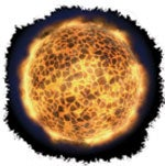 Helvete vil være hele verden som blir satt i brann. Ildens omkrets vil bli ca. 40.250 km, og varmen så intens at alt på jorden brenner opp.