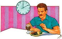 Geregelte Essenszeiten sind sehr wichtig.
