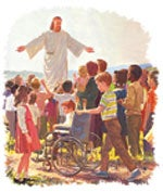 Книгата на Откровение го претставува Исуса на посебен начин.