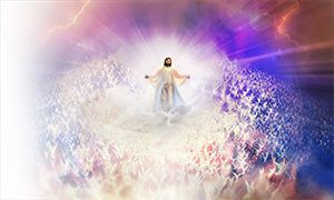When all have heard Jesus' end-time message, He will return to earth to take His people with Him to heaven.