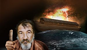 "The special emphasis of Noah's ""present truth"" was a coming flood"