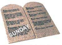 Å endre sabbaten til søndag er å endre Guds lov - en veldig alvorlig sak.