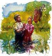Baptism is the marriage ceremony that weds me to Christ.