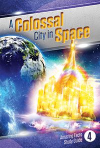 A Colossal City In Space