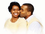 Med äkta kärlek blir äktenskapet lyckligt.