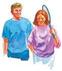 Научете да се смеете и да уживате заедно во здрава активност.