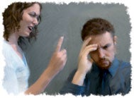 Harsh, angry words crush your spouse's desire to please you.
