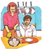 Ett rent och ordentligt hem löser många problem i familjen.