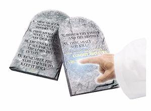 1. Dieu a-t-il vraiment écrit lui-même les dix commandements?