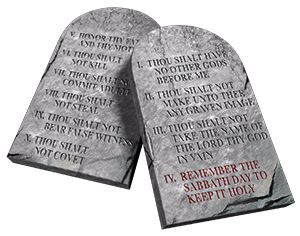 4. What does God say about the Sabbath in the Ten Commandments?