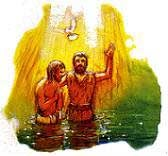 Jesus was baptized by immersion.