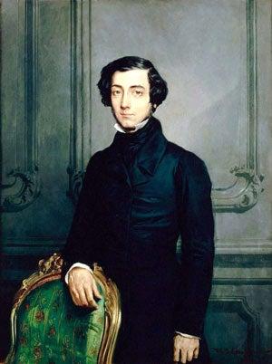 Portrait of Alexis De Tocqueville