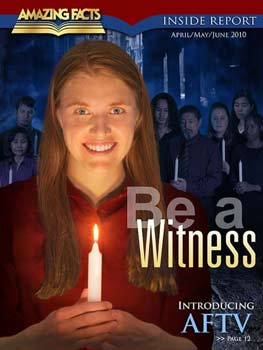 Cover of Be A Witness Magazine