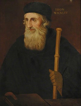 Painting of John Wycliffe