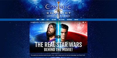 Visit CosmicConflict.com