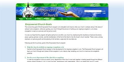 Visit EmpoweredChurch.com
