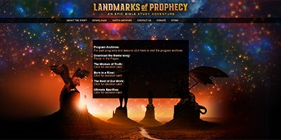 Visit LandmarksOfProphecy.com