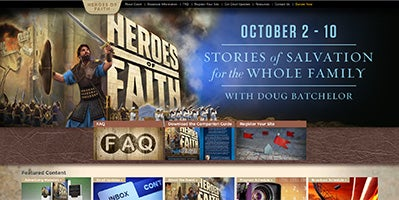 Visit TheHeroesOfFaith.com