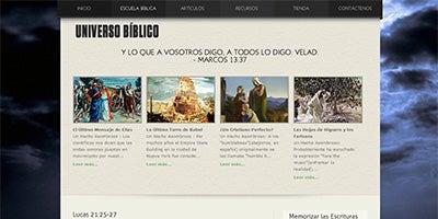 Visit UniversoBiblico.com
