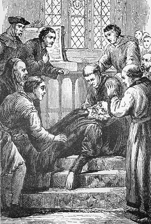 The death of John Wycliffe