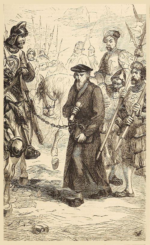 Jerome being taken to prison