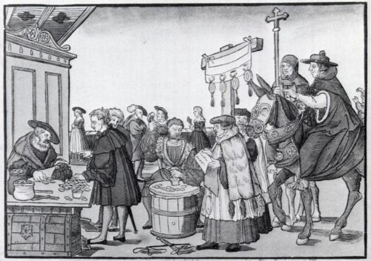 The Sale of Indulgences
