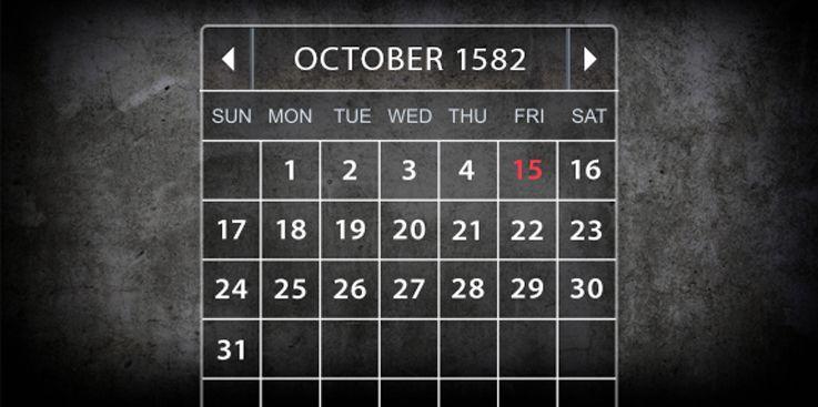¿No es que ha sido cambiado el calendario?