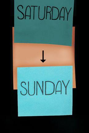 Cómo fue cambiado el Sábado