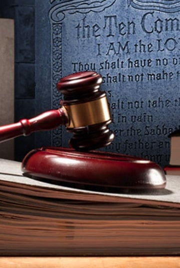 Lawmakers and the Ten Commandments
