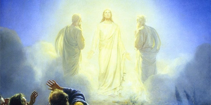 If the dead don't immediately go to heaven, how did Moses and Elijah appear at the transfiguration?